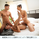 CockyBoys: Aiden, Cory and Taylor