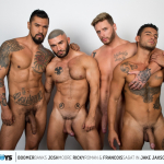 CockyBoys: Boomer, Josh, Ricky and Francois