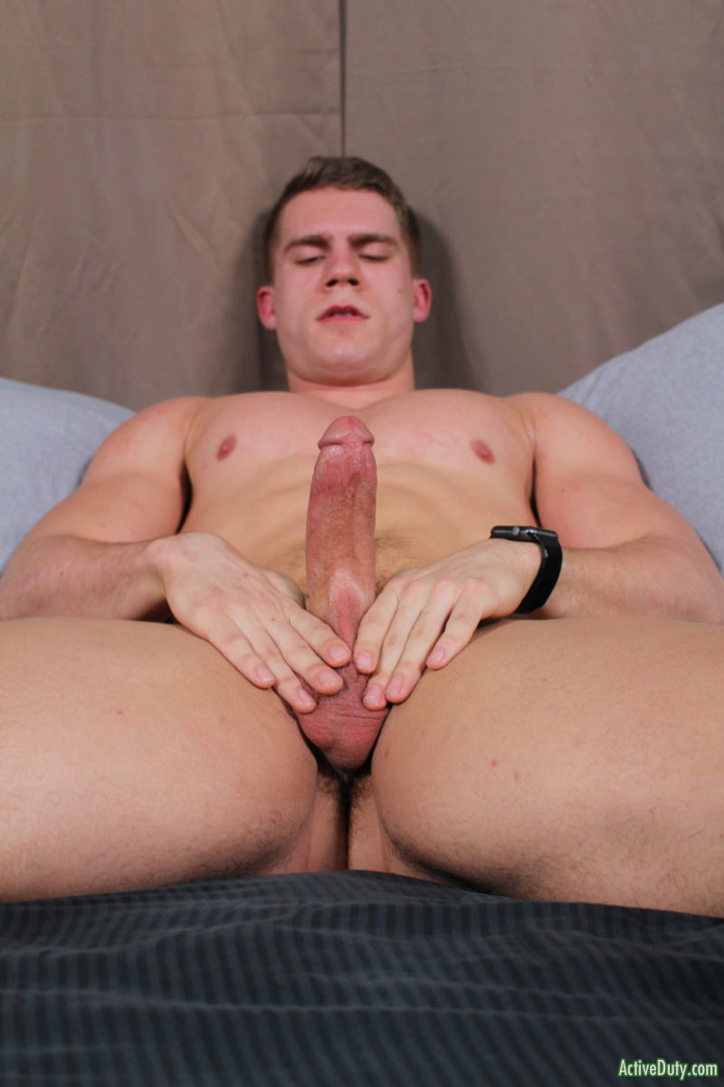 Rob Having Fun Jerking His Own Cock Part6